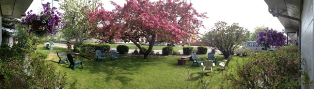 Grounds at Lakeshore Inn & Suites